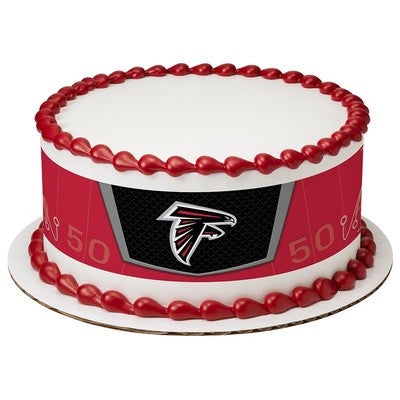Atlanta Falcons NFL Edible Cake Side Print