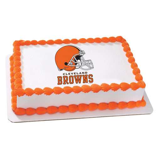 Cleveland Browns NFL Edible Cake, Cupcake & Cookie Topper