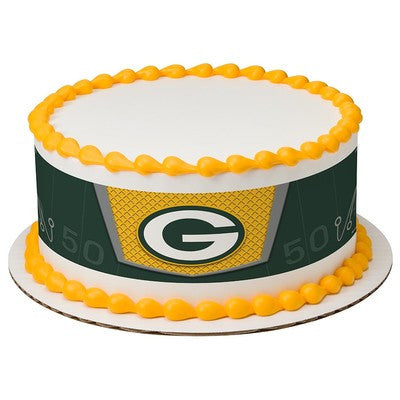 Green Bay Packers NFL Edible Cake Side Print