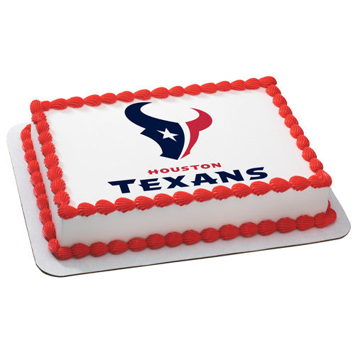 Houston Texans NFL Edible Cake, Cupcake & Cookie Topper