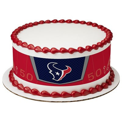 Houston Texans NFL Edible Cake Side Print