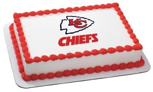 Kansas City Chiefs NFL Edible Cake, Cupcake & Cookie Topper
