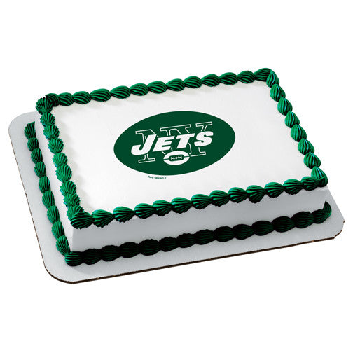 New York Jets NFL Edible Cake, Cupcake & Cookie Topper