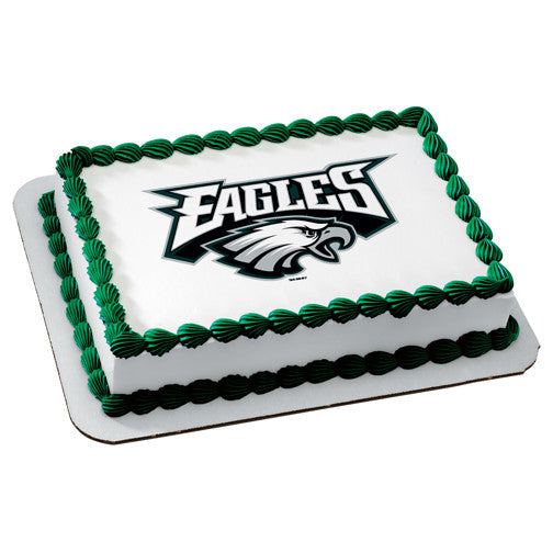 Philadelphia Eagles NFL Edible Cake, Cupcake & Cookie Topper