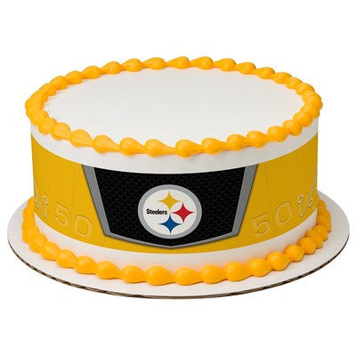 Pittsburgh Steelers NFL Edible Cake Side Print
