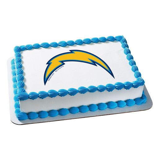 San Diego Chargers NFL Edible Cake, Cupcake & Cookie Topper