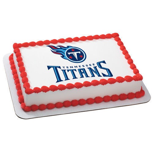 Tennessee Titans NFL Edible Cake, Cupcake & Cookie Topper