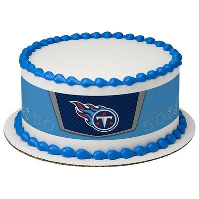 Tennessee Titans NFL Edible Cake Side Print