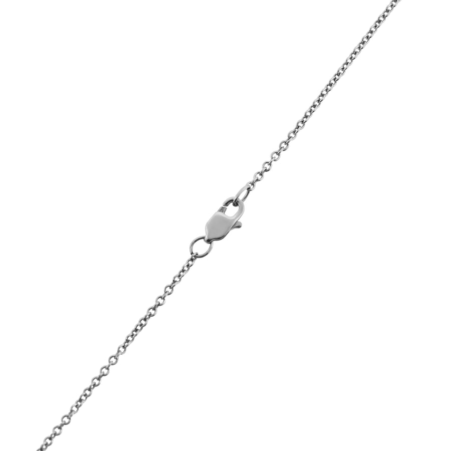 Sarah's Heart Pendant in White Gold
