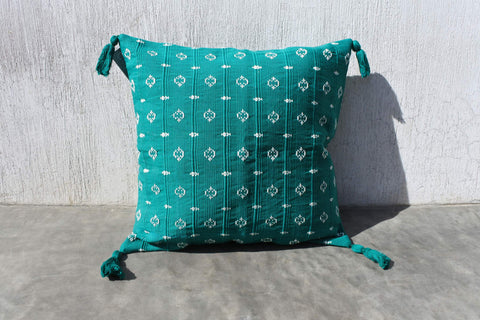 Green Lirio Pillow