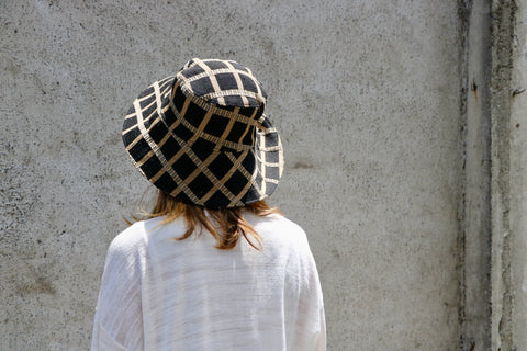 Hat in Classic Milano Plaid