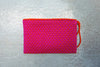 Pink Simple Clutch in Dragonfruit