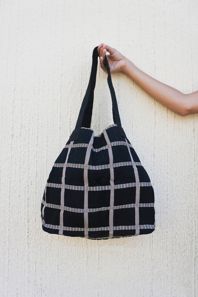 Shopping Bag in Milano Plaid