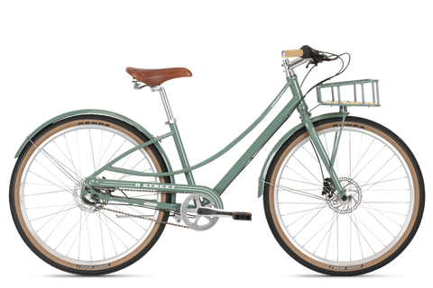 Vélo Complet Del Sol Soulville DLX ST 2019 en couleur Vert Volkswagen Step-Through