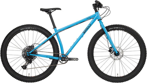 Vélo Complet Surly Krampus Tangled Up In Blue en acier Cromoly 4130 avec pneus 29+ Trail