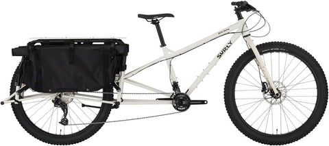 Vélo Cargo Surly Big Fat Dummy en acier Cromoly Fatbike Blanc Thorfrost White