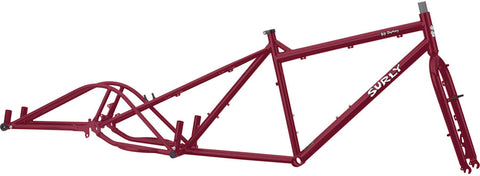 Cadre Surly Big Dummy Cargo Bike cargobike longtail Frame Frameset Québec Canada Vélos Roy-O #surly #surlymakeityourown