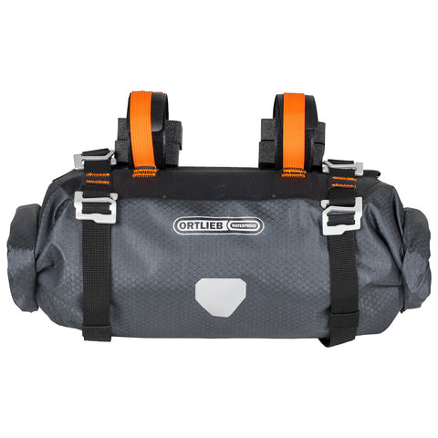 Sac de Guidon Handlebar-Pack S Ortlieb Bikepacking bike packing waterproof Imperméable Étanche Noir Orange Québec Canada Vélo Roy-O