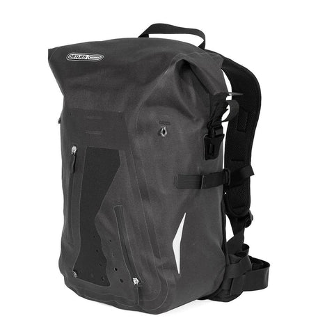 Sac à dos Ortlieb Waterproof Packman Pro 2 Pro2 Backpack Imperméable Étanche IP64 Rucksack 25L litres daypack Vélos Roy-O Québec Canada Montréal #velosroyo #ortlieb #ortliebwaterproof #packmanpro2 Noir R3206