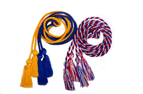 Double Solid & Multi Color Honor Cords