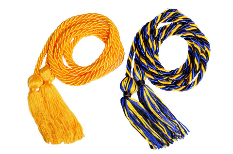 Single Solid & Multi Color Honor Cords