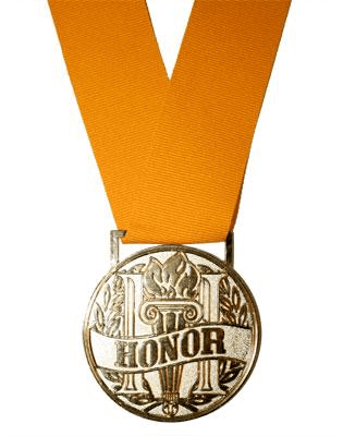 The Honor Cord Company Honor Medallion