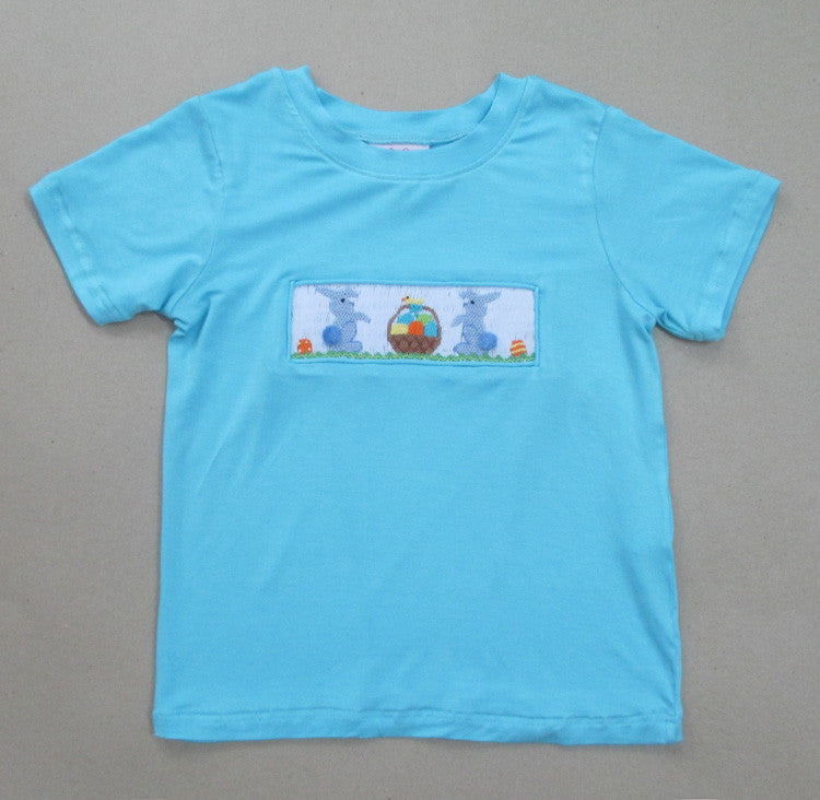 Blue Bunny Cotton Tail Tee
