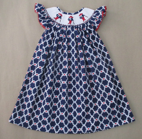 Colonel Reb Smocked Dress