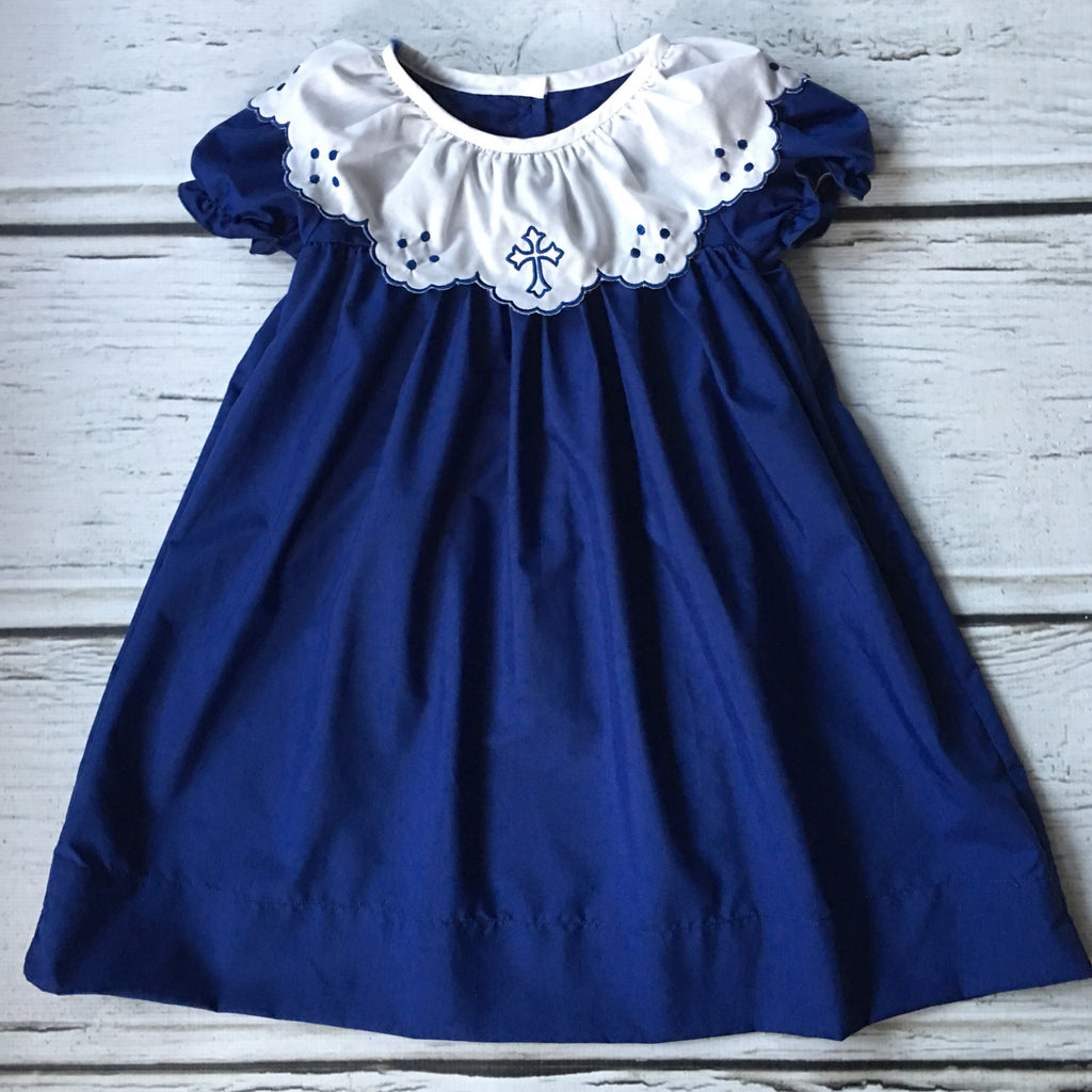 Navy Cross Dress - Ready to Ship