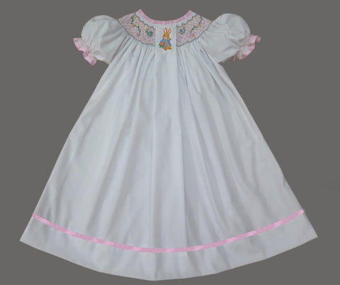 White Peter Cotton Tail Dress