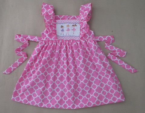 Ballarina Smocked Dress