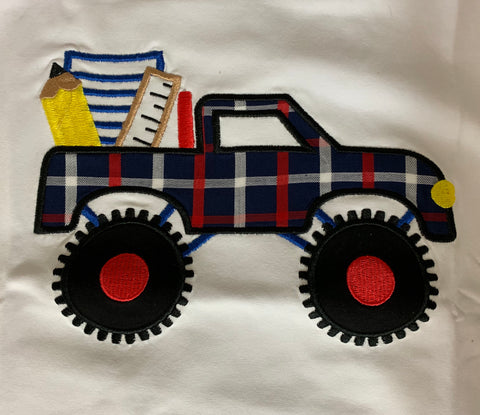 Back To School Truck Tee