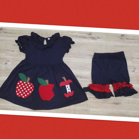 Apple Trio Short Set
