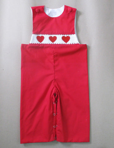 Red Heart Smocked Longall