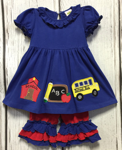 Knit Chalkboard Short Set