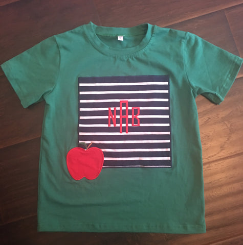 Boys Apple Frame Tee