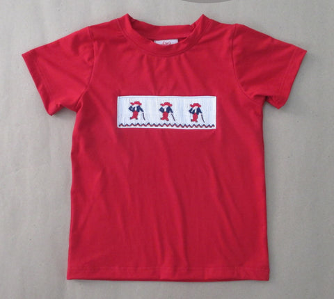 Colonel Reb Smocked Tee