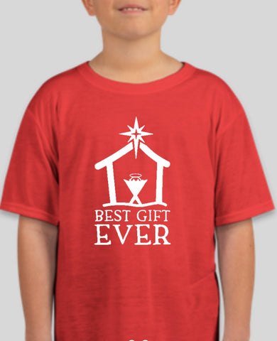 Red YOUTH Best Gift EVER Tee - PRESALE SHIPPING DEC. 16th OR Pickup the 15th or 16th