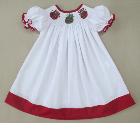Ornament White Smocked Bishop