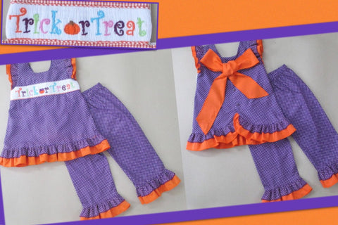 Trick or Treat Girls Pant Set
