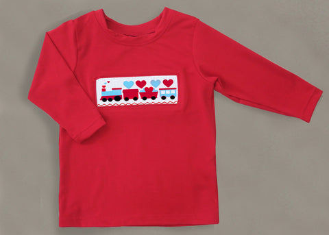 Train Heart Boys Tee-