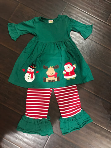 Classic Christmas Pant Set - Ready to Ship