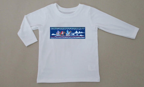 3 Wise Men Smocked Boys Tee - PRE SALE SHIP BY BEGINNING OF NOVEMBER