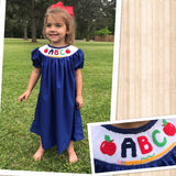 ABC Smocked Dress 18