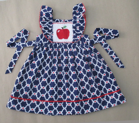 Apple Blue Quatrafoil Dress