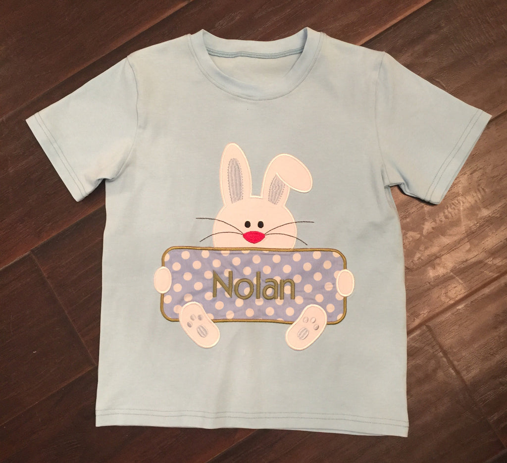 Bunny Name Plate Tee Shirt