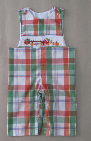 Fall Farm Plaid Longall