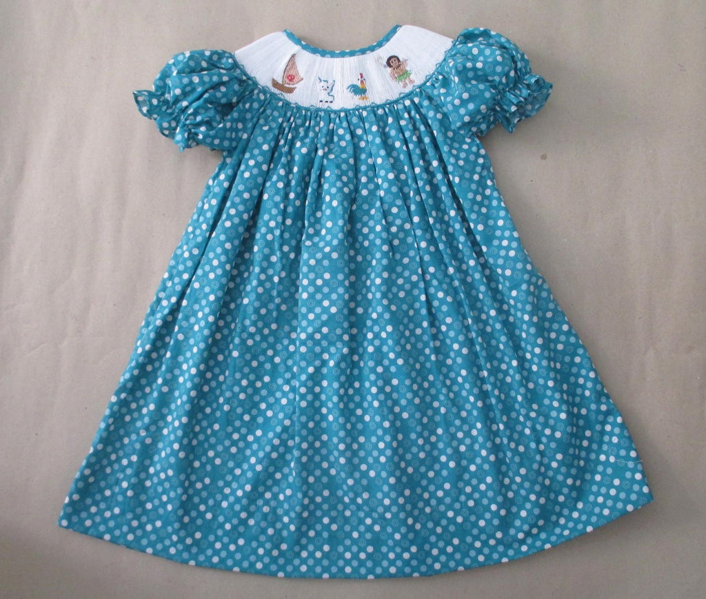 Island Princess Smocked Dress