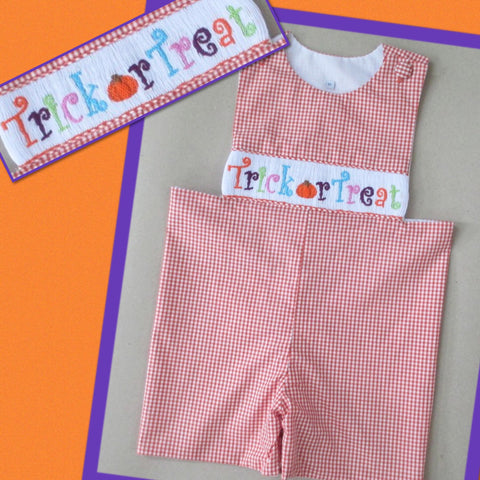 Trick or Treat Shortall