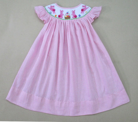 Pink Cotton Tail Bunny Dress